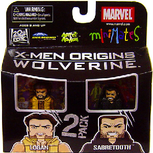Marvel Minimates - Logan and Sabretooth