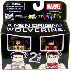 Marvel Minimates - Special Ops Wolverine and Deadpool