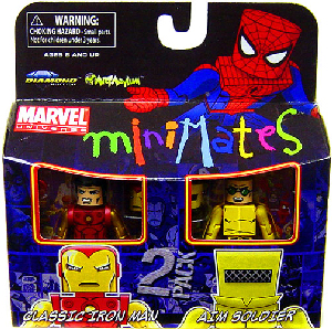 Marvel Minimates - Classic Iron Man and A.I.M Soldier
