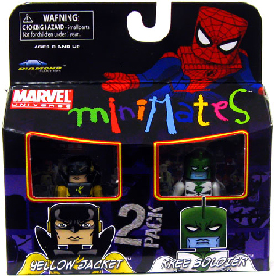 Marvel Minimates - Yellow Jacket and Kree Soldier
