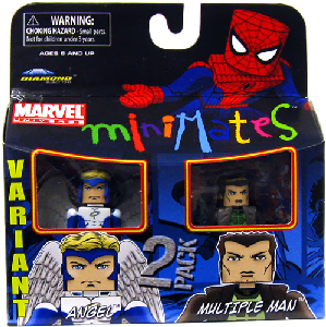 Marvel Minimates - Angel and Multiple Man Variant