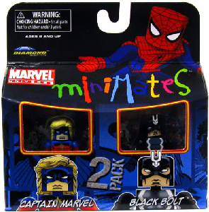 Marvel Minimates - Captain Marvel and Black Bolt