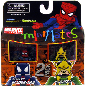 Marvel Minimates - Insulated Spider-Man and Electro