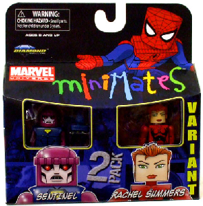Marvel Minimates - Sentinel and Rachel Summers Variant