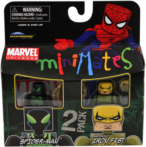 Marvel Minimates - Big Time Spider-Man and Shadowland Iron Fist