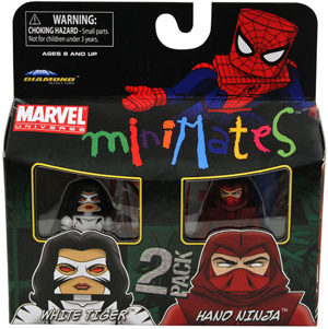 Marvel Minimates - White Tiger and Hand Ninja