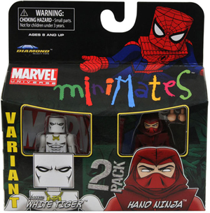 Marvel Minimates - Classic White Tiger and Hand Ninja Variant