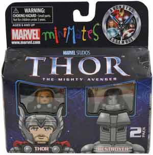 Thor Minimates - 2-Pack Thor and Destroyer