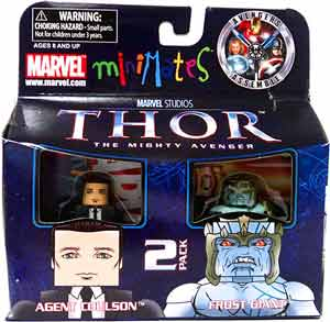 Thor Minimates - 2-Pack Agent Coulson and Frost Giant