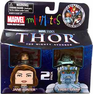 Thor Minimates - 2-Pack Jane Foster and Frost Giant
