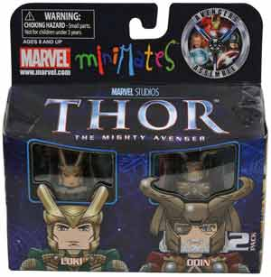 Thor Minimates - 2-Pack Loki and Odin