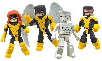 Minimates - X-Men First Class Box Set Jean Grey, Cyclops, Angel, Iceman
