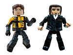 Minimates - X-Men First Class - Professor Xavier and Sebatien Sha