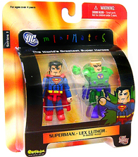DC Minimates - Superman and Lex Luthor