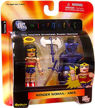 DC Minimates - Wonder Woman and Ares