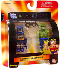DC Minimates - Batman and Killer Croc