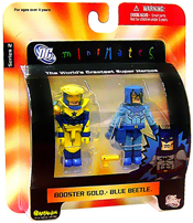 DC Minimates - Booster Gold and Blue Beetle