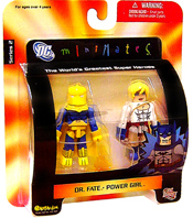 DC Minimates - Dr Fate and Power Girl