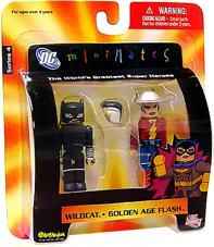 DC Minimates - Wildcat and Golden Age Flash