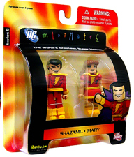 DC Minimates - Shazam and Mary