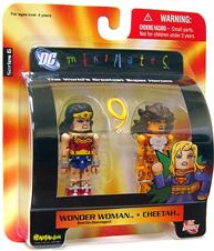 DC Minimates - Battle-Damaged Wonder Woman  and Cheetah
