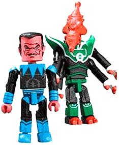 DC Minimates - Sinestro and Salaak