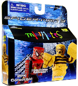 Marvel Minimates - Battle Damaged Spider-Man and Sandman