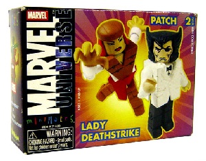 Marvel Minimates - Wolverine[Patch] and Lady Deathstrike