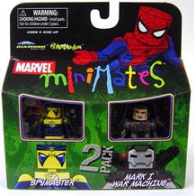 Marvel Minimates - Spymaster and Mark I War Machine