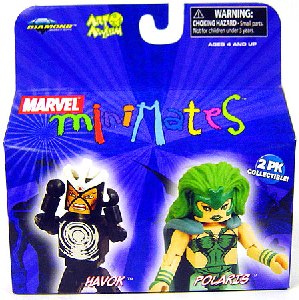 Marvel Minimates - Havok and Polaris