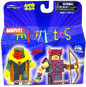 Marvel Minimates - Vision 2.0 and Hawkeye Variant
