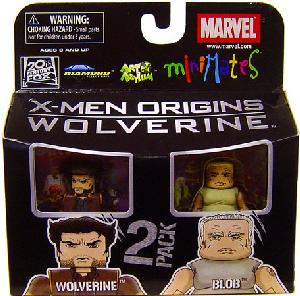 Marvel Minimates - Wolverine and Blob