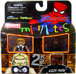 Marvel Minimates - Ultimate Thor and Nick Fury