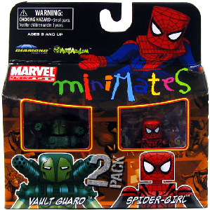 Marvel Minimates - Vault Guard and Spider-Girl
