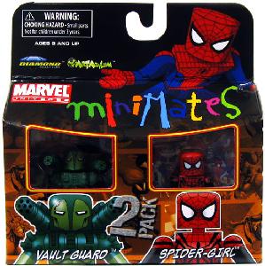Marvel Minimates - Vault Guard and Spider-Girl