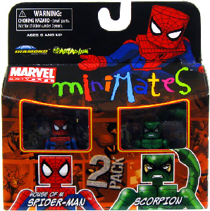 Marvel Minimates - House of M Spider-Man and Scorpion