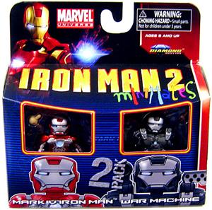 Marvel Minimates - Iron Man Mark V and War Machine