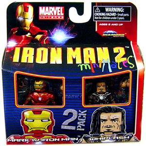 Marvel Minimates - Iron Man Mark IV and Whiplash