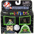 Ghostbusters Minimates - 2-Pack - Slimed Peter Venkman and Clear Slimer