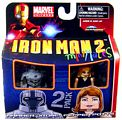 Marvel Minimates - Hammer Drone and Pepper Potts