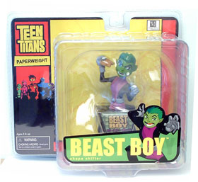 Beast Boy Mini Paperweight