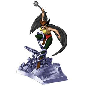 Hawkgirl Resin Figurines