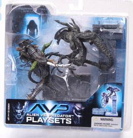 Alien VS Predator Playsets - Alien Attacks Predator