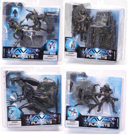 Alien Vs. Predator Series 2 Set of 4