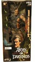 18-Inch Movie Maniacs Ash - Army Of Darkness - DAMAGED PACKAGE
