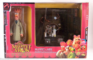 Muppet Labs with Beaker