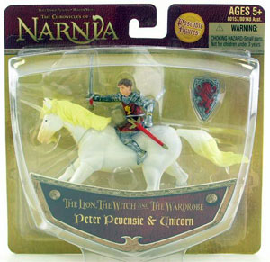 Chronicles of Narnia: Peter Pevensie & Unicorn
