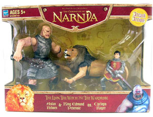 Chronicles of Narnia: Aslan Reborn & King Edmund Pevensie Vs. Cyclops Rager