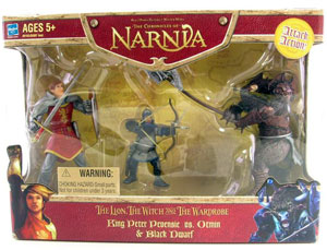 Chronicles of Narnia: King Peter Pevensie Vs Black Dwarf & Otmin