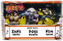 Naruto 3-Inch 3-Pack: Sound Ninja: Zaku, Dosu, Kin